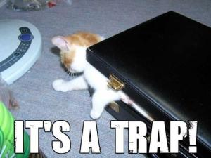 And a trap it is.