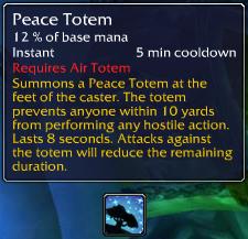 Peace Totem