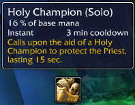 Holy Champion (Solo)